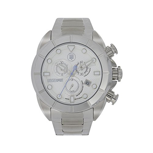 Technosport TS-640-15 Men's Stainless Steel Chronograph Watch Swiss Movement Stainless Steel Band
