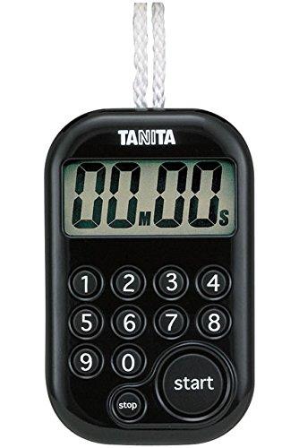 Tanita 타니타 타이머 텐 키 100분 블랙 TD-379 BK
