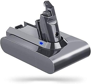 LiBatter DC62 V6 Batería 21.6v 3000mAh Reemplazo para Dyson V6 DC58 DC59 DC61 DC62 Serie Animal DC72 204720-01 209432-01 209472-01 209476-01 209560-01 210691-01 210692-01 Aspirador de Mano