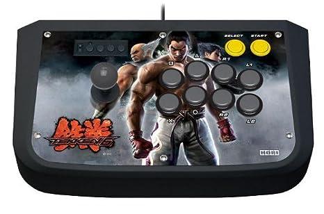 Amazon Com Tekken 6 Hori Real Arcade Pro 3 Joystick Fightstick For Playstation 3 Hp3 62 Video Games