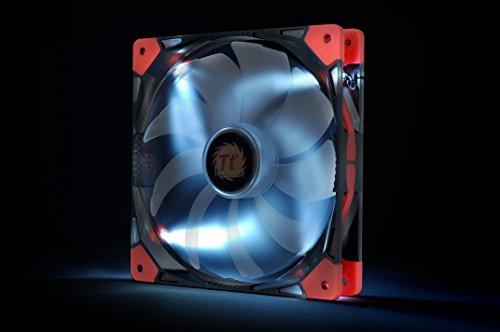 Thermaltake Luna 140mm Silent Fan Cooling CL-F023-PL14WT-A White LED
