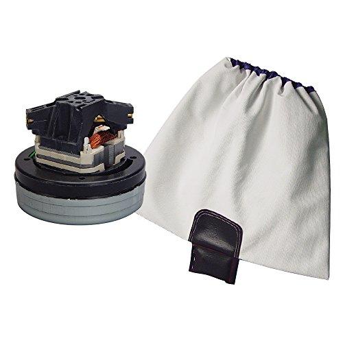 Cabinet Vacuum Motor 6008-00 Bundled with Skat Blast Old-Style Vacuum Bag 6011-00 ()