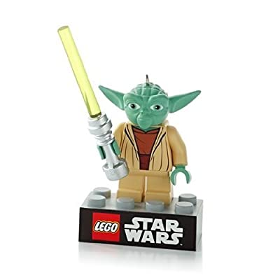"Hallmark 2013""Yoda Lego Star Wars Ornament: Home & Kitchen"