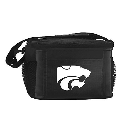New NCAA College 2014 Team Color Logo 6 Pack Lunch Tote Bag Cooler - Pick Team (Kansas State (Kansas State Wildcats Cooler)