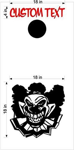 Clowns Jokers コーンホールボードデカールステッカー 両方のボードに十分 03 B07HP25T7D