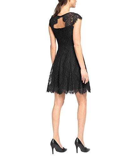 Black Schwarz Damen Collection 001 Kleid ESPRIT 7tCUIqwW