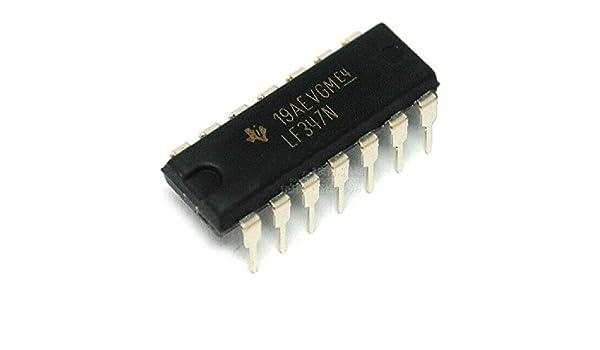 5pcs LF347N LF347 DIP14 Quad JFET Input Op Amp NEW GOOD QUALITY