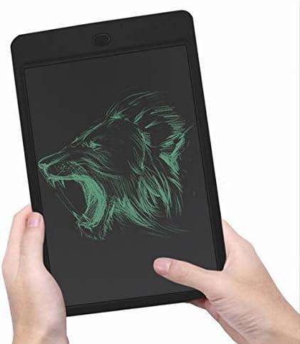 塗装用具 12インチの厚さの手書きビジネスライティングタブレット液晶液晶ライティングボード子供のスマート電子光エネルギー黒板液晶ライティングタブレット (色 : ブラック)