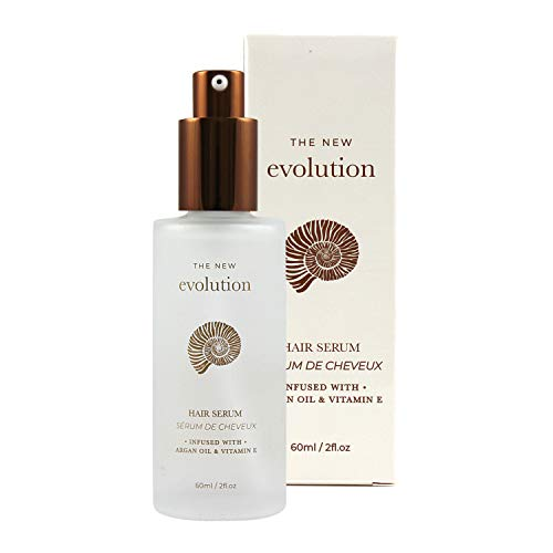 Evolution Argan Oil Serum For Hair - Vitamin E Hair Serum To Soften Dry Hair - Nourishing Serum For Hair Straightening - Hair Serum With Aloe Vera (1 Pack)