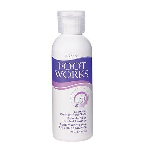 Avon Foot Works Lavender Comfort Foot Soak