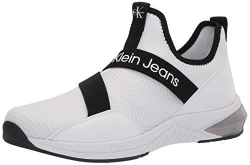 Calvin Klein Sadie Sneaker para mujer, blanco, 7.5