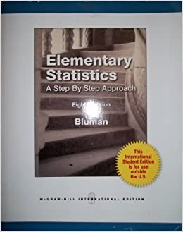 Elementary statistics a step by step approach 8th edition elementary statistics a step by step approach 8th edition international student edition allan g bluman elementary statistics a step by step approach fandeluxe Image collections