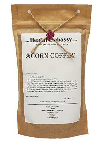 Acorn Coffee - Health Embassy - 100% Natural (100g) (Best Coffee Substitute Uk)