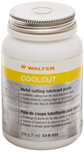 (Walter 53B023 COOLCUT Metal Cutting Lubricant – 200g Non Toxic Industrial Lubricant for Ferrous, Non Ferrous Metals. Machine Lubricants)