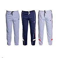 VIMAL JONNEY Men's Cotton Trackpants (Pack of 3)