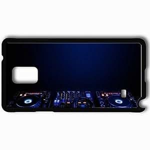 Personalized Samsung Note 4 Cell phone Case/Cover Skin 2013 djs cdj pioneer dj jootix Black