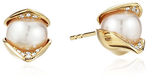 House-of-Eleonore-Paradise-18k-Yellow-Gold-Orchid-Pave-Pearl-Stud-Earrings