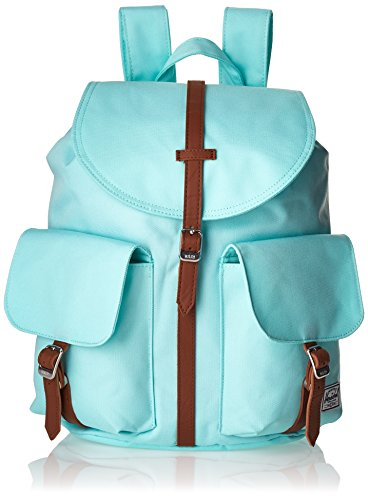 tuerkis Peacoat X Synthetic Herschel Dawson turquoise Small Leather Tan turquoise qPxW64p