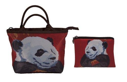 Panda Small Handbag and Coin Purse - Matching Gift Set - Great for Young Girls by Salvador Kitti (Image #9)