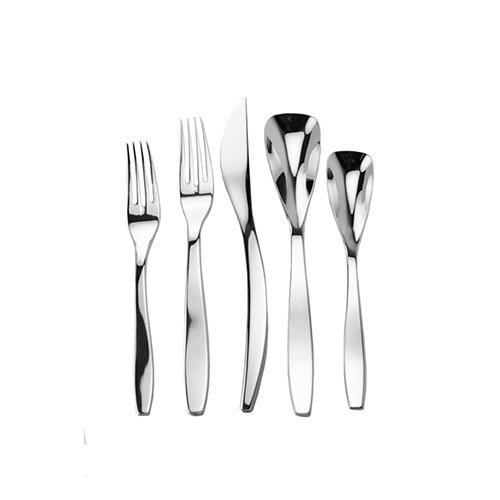 Splendide 917352 Isla 45-Piece Flatware Set (Flatware Unique)