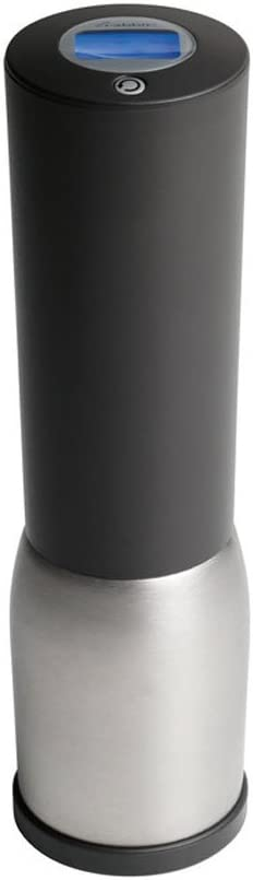 Rabbit Stainless Steel Electric Corkscrew (Black/Silver)