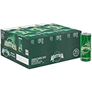 Perrier Carbonated Mineral Water, 8.45 fl oz. Slim Cans (30 Count)
