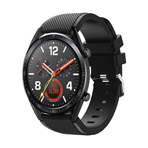 Sport Correa para Huawei Watch GT, Heligen Reemplazo de Silicona ...