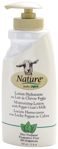 Nature by Canus Lotion, Fragrance Free, 11.8 Ounce