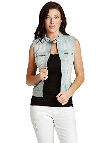 G by GUESS Women's Aldene Denim Vest