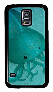A Tentacled Black Hard Case Cover Skin For Samsung Galaxy S5 I9600