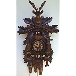 8-Day 23 in. Black Forest House Cuckoo Clock