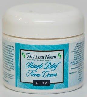 Neem Oil Shingle Relief Skin Cream - 2 oz Best Nerve Pain...