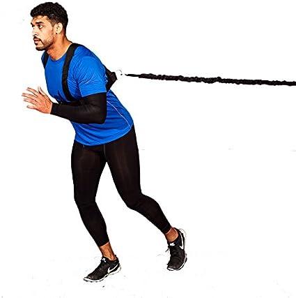 Widerstand Bungee Band mit Verstellbarem GüRtel zum Laufen Training Geschw Q3L3