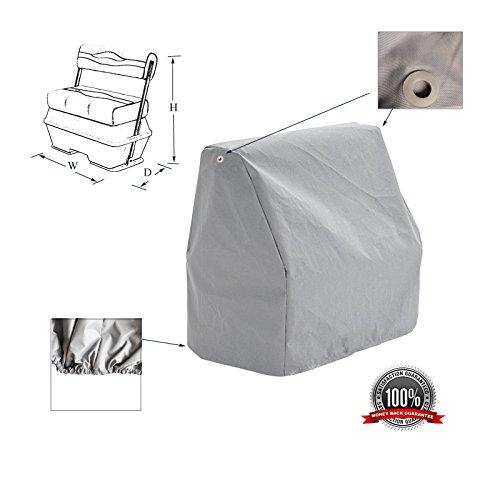 - SavvyCraft Waterproof Pontoon Flip Flop Seat Cover 22