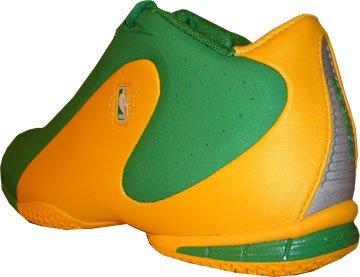 Reebok NBA Dream Up 4-141790 Grün-Gelb Größe Euro 38,5 / US 6,5 / UK 5,5 / 24,5 cm