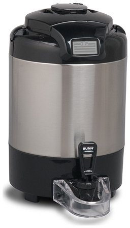 Digital Thermofresh Server - Bunn TF 1.5 Gallon ThermoFresh Digital Coffee Server No Base Stainless Steel 42750.0050