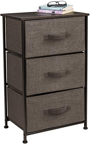 Sorbus Nightstand with 3
