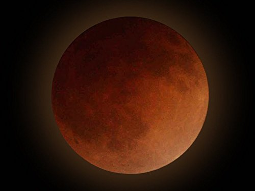 Super Blood Moon - Planet Blue