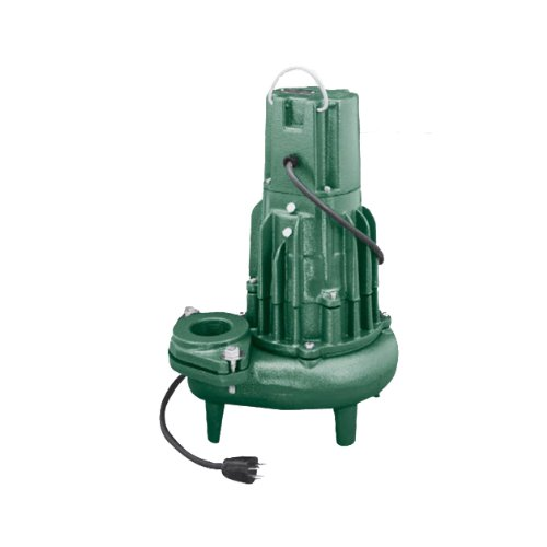 Waste Mate Submersible Pump - Zoeller 282-0004 Waste-Mate Discharge E282 0.5 HP Submersible Sewage or Effluent or Dewatering Non-Automatic Pump