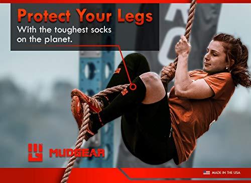 MudGear Premium Compression Socks - Mens & Womens running hiking trail (1 Pair) by MudGear (Image #6)