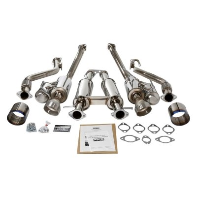 HKS 32009-BN004 Hi-Power Exhaust (Hks Stainless Steel Exhaust System)