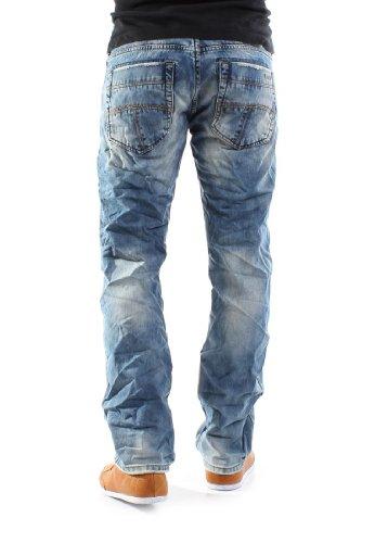 MOD Hommes Jeans - THOMAS - Ash Bleu