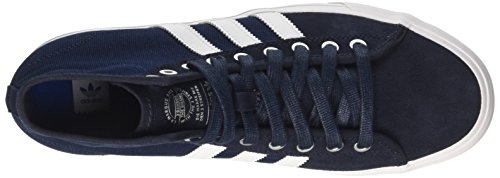 adidas Herren Matchcourt High RX Gymnastikschuhe, Blau (Night Navy/FTWR White/Collegiate Navy), 46 2/3 EU