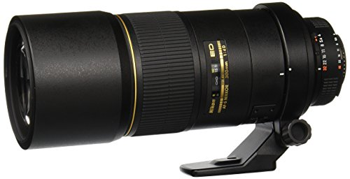 Nikon AF-S FX NIKKOR F/4D IF-ED 300mm Fixed Zoom Lens with A