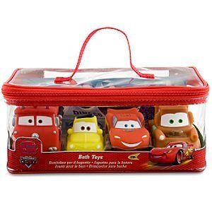 Disney Cars Bath Toys Set - 4 (Disney Cars Bath)