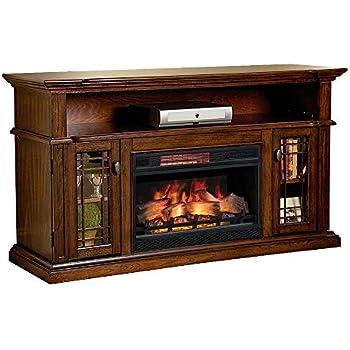 amazon com chimneyfree wallace infrared electric fireplace rh amazon com Chimney Free Fireplace Reviews Chimney Free Electric Fireplace Reviews