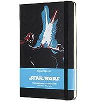 Moleskine Limited Edition Star Wars, Large, Ruled, Lightsaber Due Hard Cover