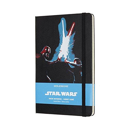 Moleskine Limited Edition Star Wars, Large, Ruled, Lightsaber Duel, Hard Cover (5 X 8.25)