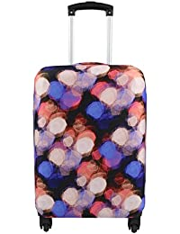 Travel Luggage Cover Suitcase Protector Fits 18-32 Inch Luggage (Light, XL(31-32 inch luggage))