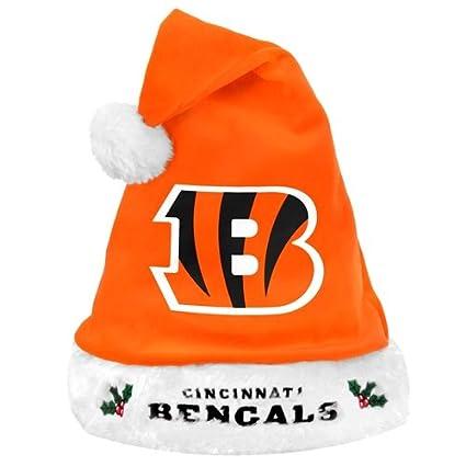 Image Unavailable. Image not available for. Color  Cincinnati Bengals 2012  Team Logo Plush Santa Hat 34efabc5a8cb